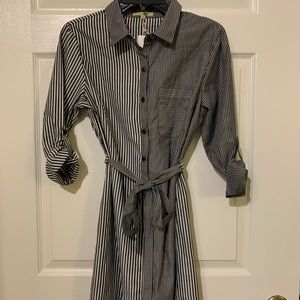 Button-Down Shirt Dress